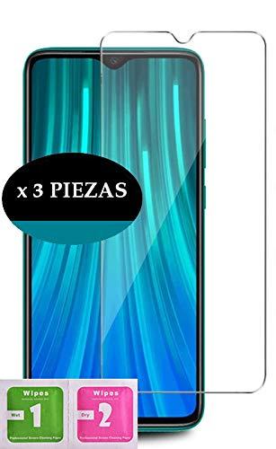 [3 Pack] Protector de pantalla para Xiaomi Mi A2 Dureza 9H Paquete de 3 Unidades Vidrio Templado Transparente Ultra Resistente Anti Rotura Cristal (Xiaomi Mi A2, Transparent)