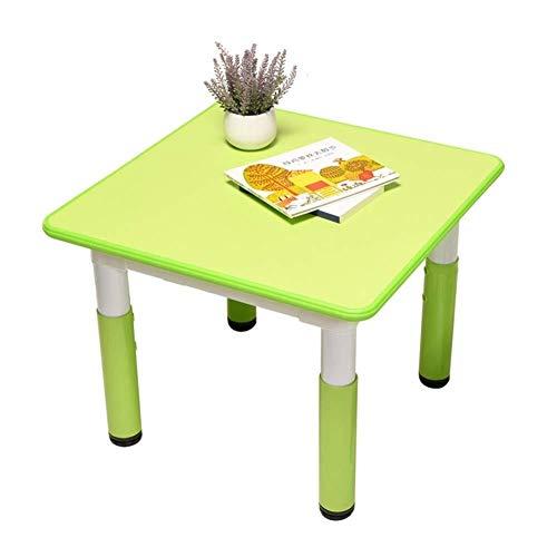 Children's table Peuter Tafels Stoelen Onderliggende tafel Kruk Eettafel weten Activity Proces Kindergarten hoogte verstelbaar multifunctionele tafel (Size : A)