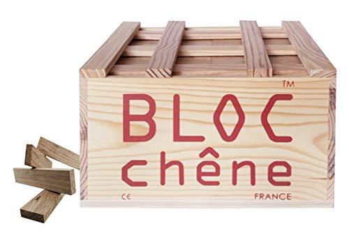 Bloc - Caja de madera de roble para los amantes de la madera