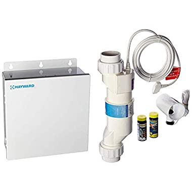 Hayward W3AQR3 AquaRite Electronic Salt Chlorination System for In-Ground Pools up to 15,000-Gallon (AQR3 Replaced by W3AQR3)