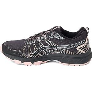 ASICS Women's Gel-Venture 7 Running Shoes, 9.5, Graphite Grey/Black/Pink
