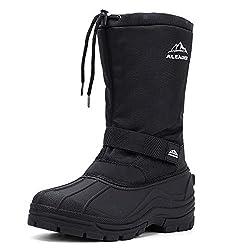 ALEADER Men's Insulated Waterproof Winter Snow Boots