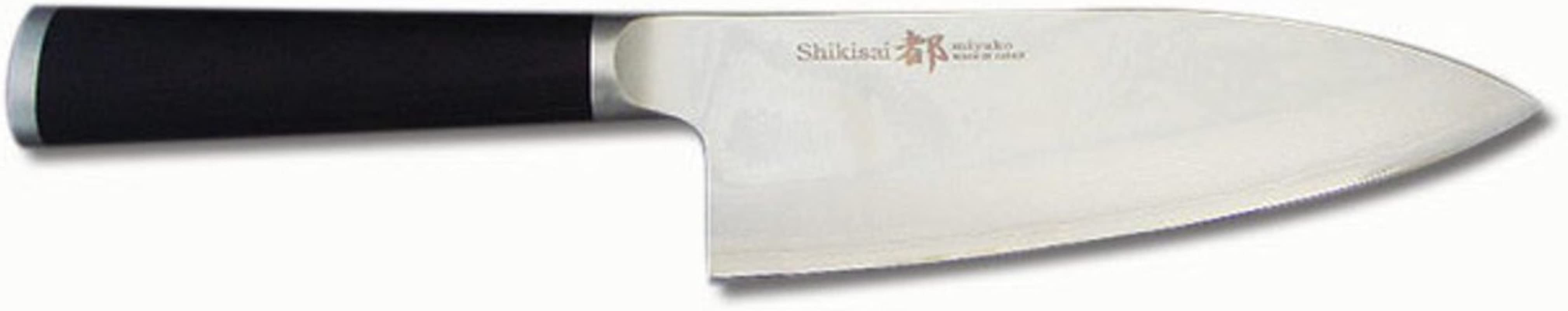 Miyako Japanese 33 Layers Damascus Steel Deba Knife 6 1 2 In With Wooden Handle Chefs Best And Favourite Knife