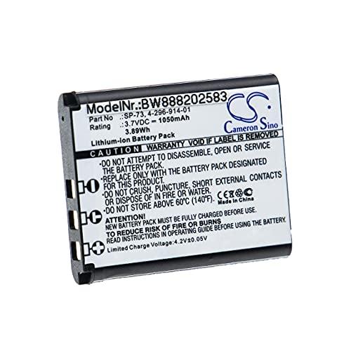 vhbw Batería Recargable Compatible con Sony MDR-1000X, MDR-1ABT, MDR-1ADAC, MDR-1RNC Auriculares inalámbricos, Cascos (1050 mAh, 3,7 V, Li-Ion)