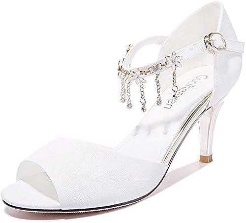HUAIHAIZ Escarpins femme Talons hauts Le forage d'eau femmes sandales chaussures à talons hauts chaussures soirée