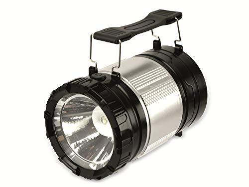 Grundig Camping lantaarn 2-in-1 30 LED's zwart, zilver