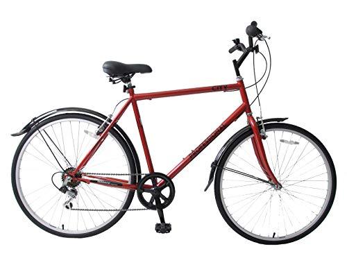 Professional City 700c Wheel Hybrid Trekking Mens Town Commute 6 Speed Bike...