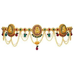 Jaipur Mart Accessory for Women (Golden) (KMBND153MG)