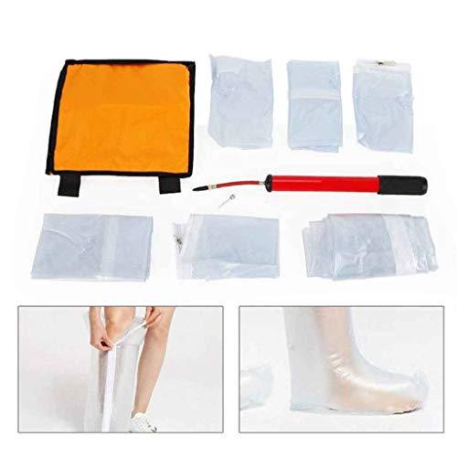JIJUI Aufblasbare Schiene - Einfache Anwendung auf verletzte Extremitäten, 6er-Set , Arm , Bein