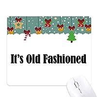 昔ながらのカクテルの名前 ゲーム用スライドゴムのマウスパッドクリスマス