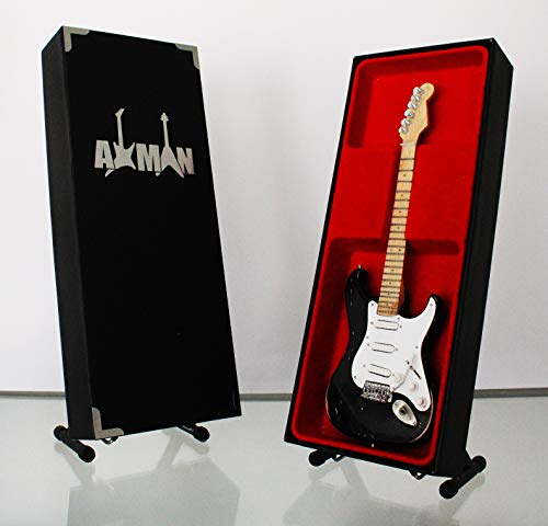 Eric Clapton (Crema) Blackie - Réplica de guitarra en miniatura