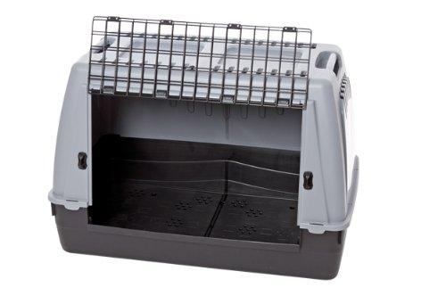 Karlie 31527 Transportbox Cargo Pro L: 77 cm B: 43 cm H: 51 cm grau Nicht für Limousinen geeignet