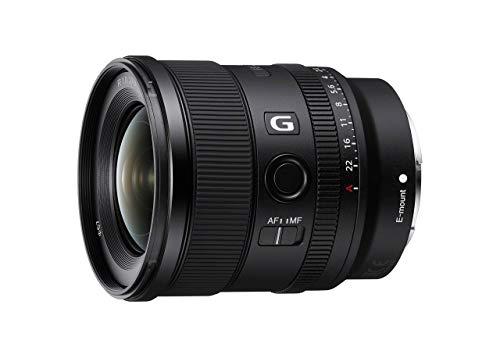 Sony SEL-20F18G Vollformat E-Mount Objektiv (FE 20mm F1.8, Ultraweitwinkel, leicht), schwarz