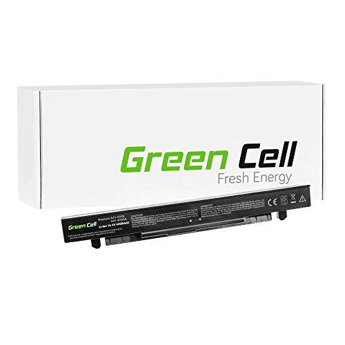 Green Cell Extended Serie Batteria per Portatile Asus P550CC-XO558H (8 Pile 4400mAh 14.4V Nero)