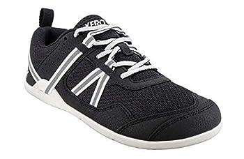 Xero Shoes Women s Prio Cross Training Shoe - Lightweight Zero Drop Barefoot Black/White 10.5