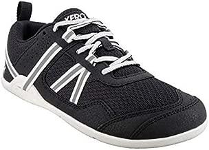 Xero Shoes Women's Prio Cross Training Shoe - Lightweight Zero Drop, Barefoot, Black/White, 9.5