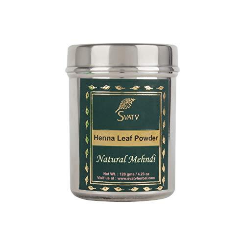 SVATV :: Color/tinte para el cabello con henna natural - 120 gramos - Color natural para el cabello - Sin químicos