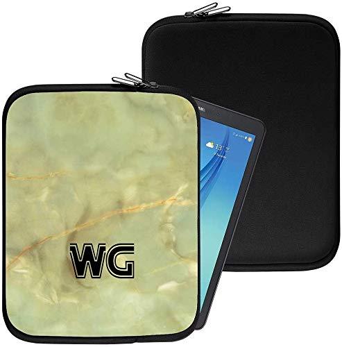 Personalisiert Marmor Neopren Tablethülle Case Tasche (82) für Huawei Honor T1 7.0 (7
