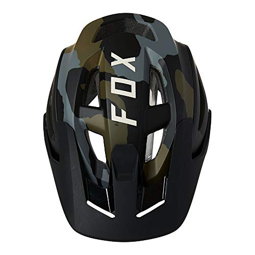 Fox Racing Men's SPEEDFRAME PRO HELMET, CE Mountian Biking, Green CAMO, M