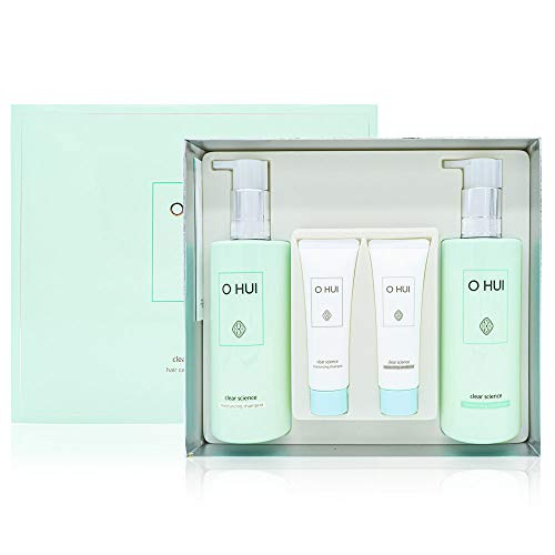 Korean Cosmetics_Ohui Clear Science Hair Care Special Set   Shampoo & Conditioner