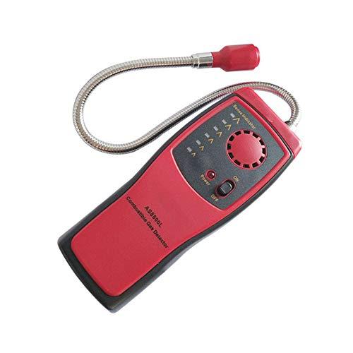 QWERTOUY Alarma del Detector de Escape de combustión Analizador de Gas Natural...