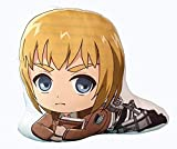 Anime Attack on Titan Plush Throw Pillow Armin Arlert Papa Cushion Back Pillows Plushies Doll Gifts for Kids Teens Boys Girls