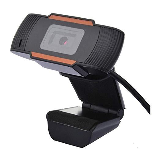 LAANCOO Cámara web con micrófono, cámara web de transmisión con ángulo de visión amplio de 120 grados, cámara web USB para videollamadas, grabación de conferencias