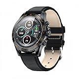 l b s Smart watch, touch screen con monitoraggio della frequenza cardiaca e della pressione sanguigna, monitoraggio dell'attività sanitaria, IP67 impermeabile, compatibile con Android iOS (A) (C)