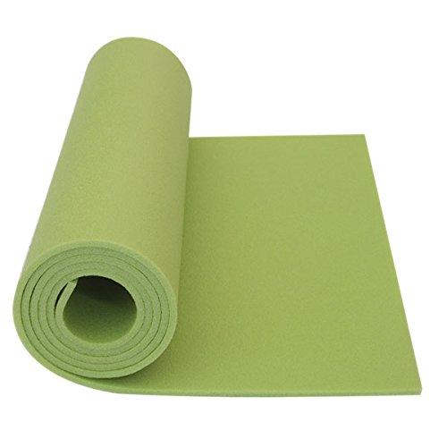 Schaumstoff Campingmatte Gymnastikmatte Aerobic Yoga grün 180 x 50 x 0,6 160g
