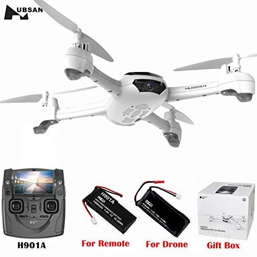 Hubsan X4 H502S 5.8G FPV GPS Altitude Mode RC Quadcopter 720P HD Camera RTF (2 Drohne Akku)