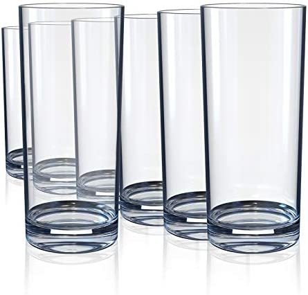 Drinking Glasses Highball Glass Cups for Cocktails Whiskey Water Juice Beer Wine Glass Cups product image