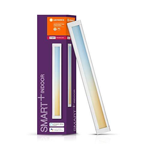 LEDVANCE Smart+ Unterschrankleuchte mit 30cm Länge(Erweiterbar), ZigBee, Warmweiß bis Kaltweiß, Direkt kompatibel mit Echo Plus und Echo Show (2. Gen.), Kompatibel mit Philips Hue Bridge