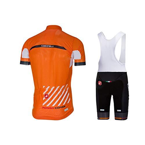 Lilongjiao Ciclismo Camisa de Ropa de Manga Corta de Secado rápido Transpirable...