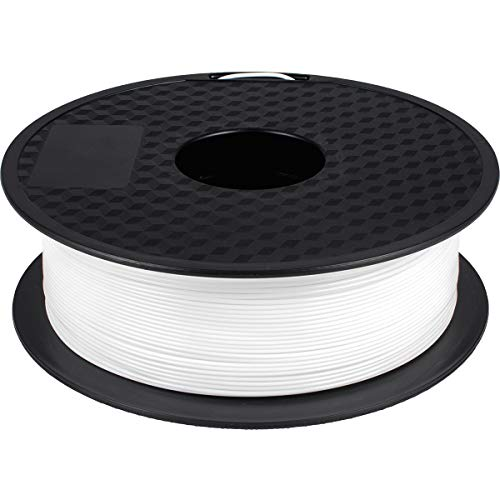 PLA Filament 1.75mm White, GEEETECH New 3D Printing Filament PLA for 3D Printer and 3D Pen, 1kg 1 Spool