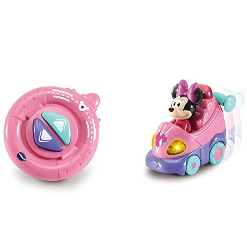 Vtech 80-514704 TUT Baby Flitzer RC Babyspielzeug, Spielzeugauto, ferngesteuertes Auto, Minnie Maus