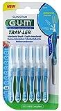 gum trav-ler spazzoline interdentali blu 1.6mm, 6pezzi