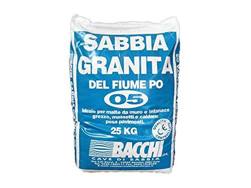 Geosism & Nature Sabbia carbonatica 0,5/3 mm (25 kg - 20 lt)