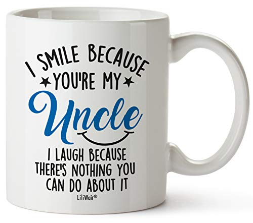 Mug Gift for Uncle From Niece Nephew