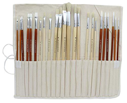 Art Advantage Oil and Acrylic Brush Set