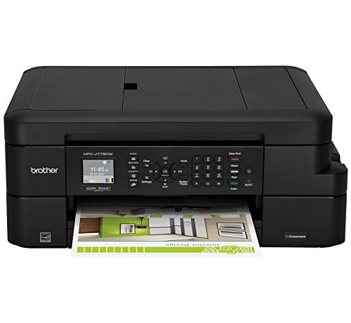 Brother Inkjet Printer, MFC-J775DW, Amazon Dash Replenishment Enabled