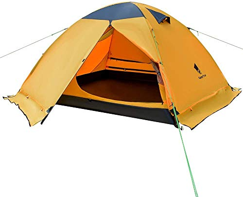 3 Person 3 Season Waterproof Dome Backpacking Tent for Camping Hiking Travel Climbing - Easy Set Up