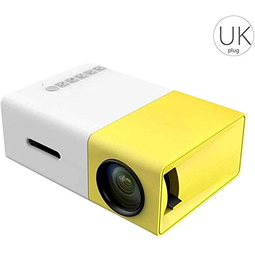 Home Media Player YG300 LED-projector 3.5mm audio 320x240 pixels 1080p HD-SD-kaart AV USB Mini Projector