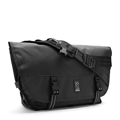 Chrome Citizen Messenger Satchel Bag Seat Belt Buckle 26 Liter Black