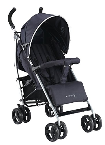 knorr-baby 848510 Buggy Styler Happy Colour, schwarz