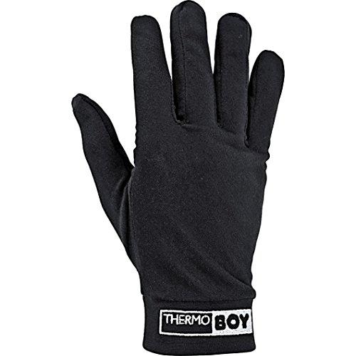 Thermoboy Unterziehhandschuhe Unterziehhandschuh 2.0, schützt vor Auskühlung, bequem, wärmend, atmungsaktiv, Schwarz, M