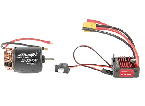 Turnigy Trackstar 540-13T Brushed Motor & 60A ESC Combo for 1/10th Crawler