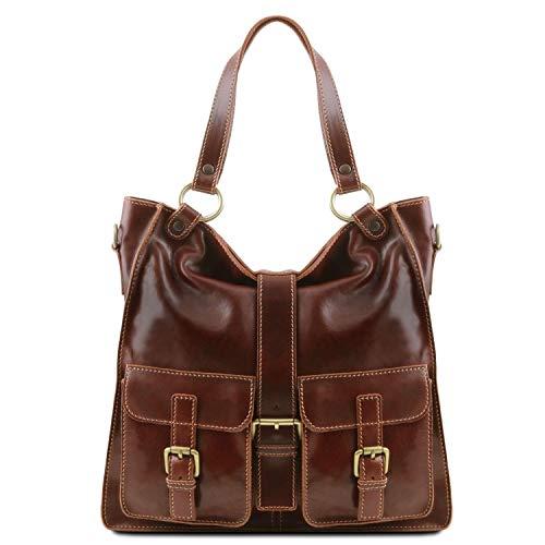 Tuscany Leather Melissa Borsa donna in pelle Marrone
