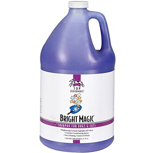 Price comparison product image Top Performance Bright Magic Dog and Cat Shampoo,  1-Gallon