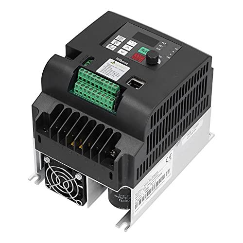 NFLIXIN Convertitore di frequenza variabile, 9600-3T-00400G Convertitore inverter vettoriale VFD Uscita ingresso trifase 4KW