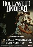 Hollywood Undead - Five, Wiesbaden 2018 »